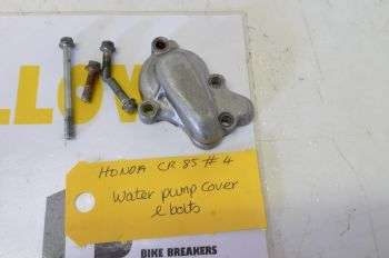 HONDA CR85 BIG WHEEL. WATER PUMP COVER #4(CON-A)